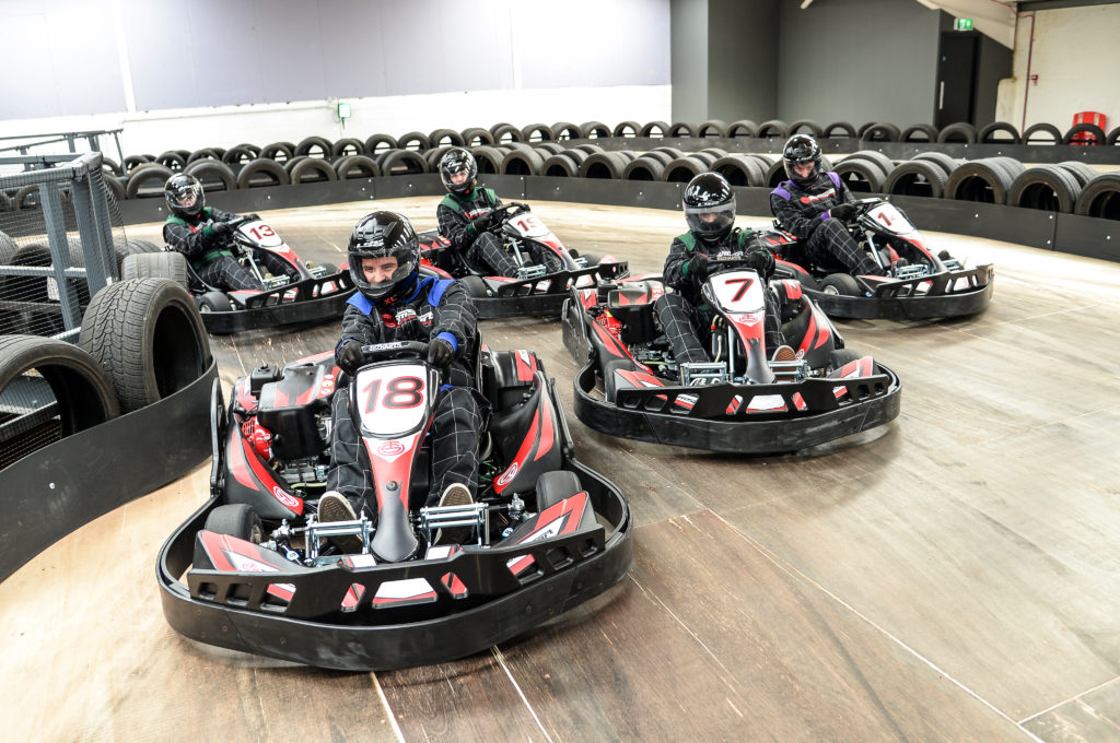 Life in the fast lane at fab new Coventry karting track