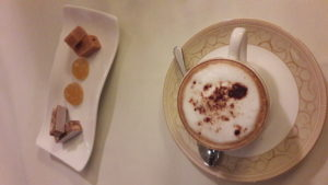 Coffee and Petits Fours Mallory Court Hotel