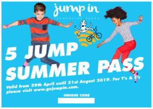 Jump In Warwick, Summer Pass