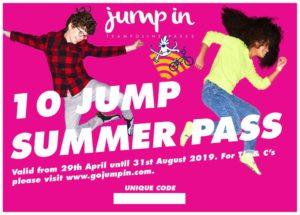 Jump In Trampoline Park, Warwick, Summer Pass