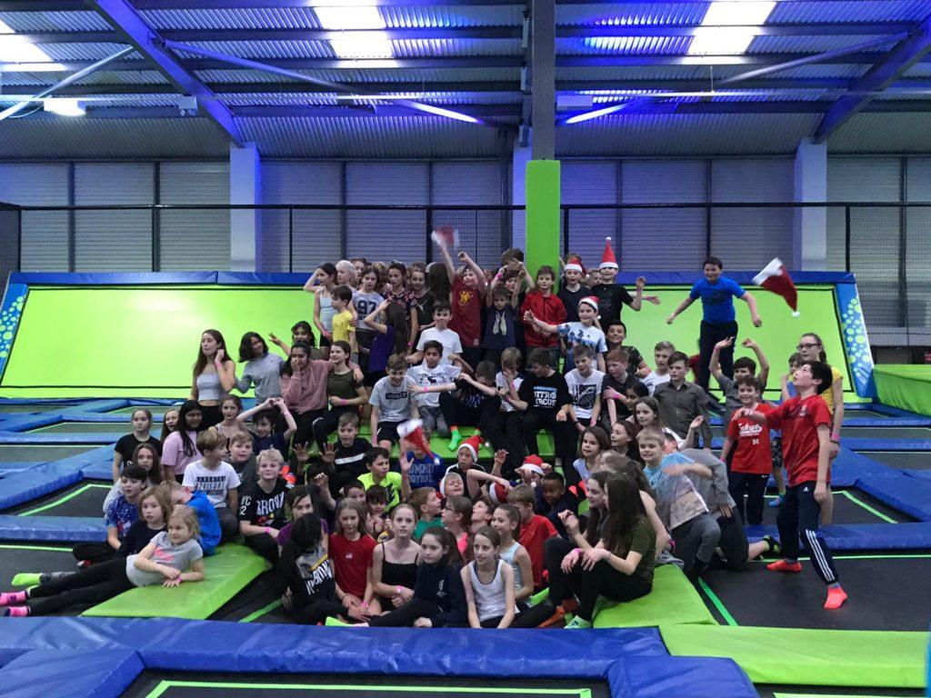 Jump In, Trampolines, Warwick, parties, birthday, Christmas