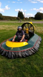 Adventure Sport Warwick, Mud and Mayhem, Hovercrafting