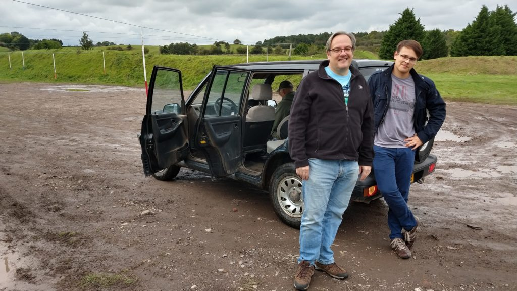 Reverser steer jeeps, Adventure Sport, Warwick