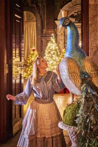 Blenheim Palace, Christmas, Alice In Wonderland