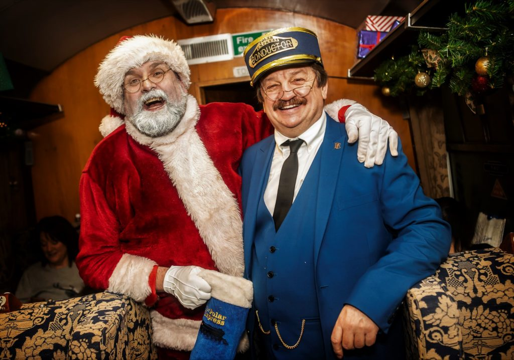 All aboard for magical Christmas experience