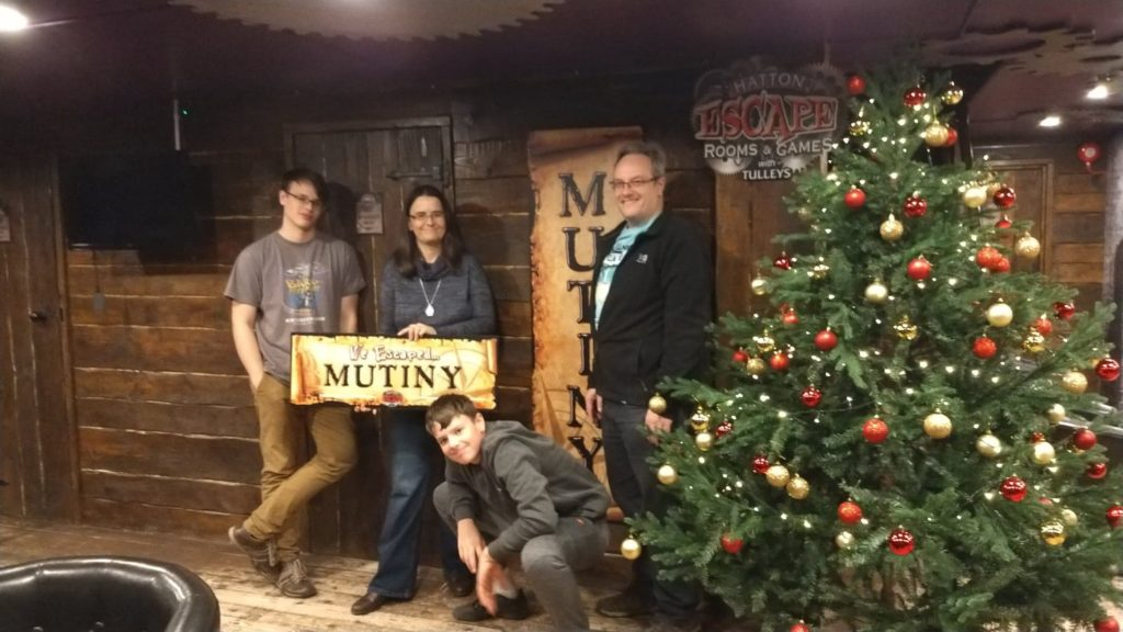 Hatton Escape Rooms, Mutiny, Tulleys