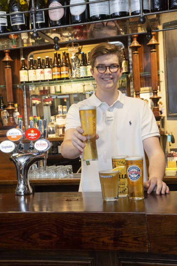 New look and menu for popular pub