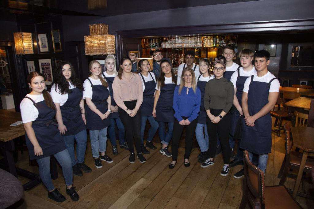Hatton Arms, Warwick, dining, menu