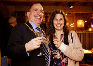 Hatton Arms, Warwick, mayor, launch party