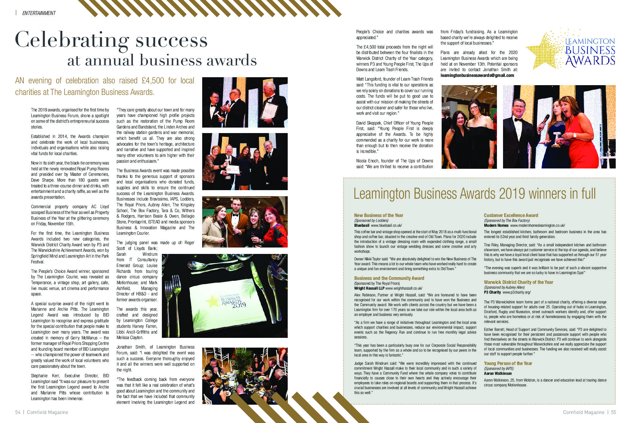 Awards Cornfield