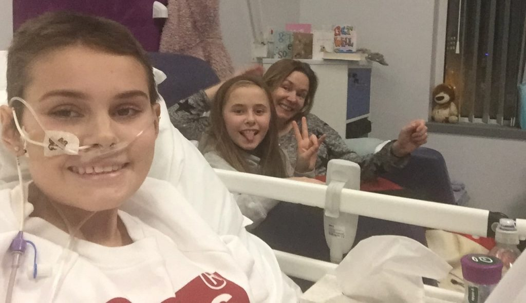 Molly Olly's Wishes, Ella Richards, Non-Hodgkins Lymphoma