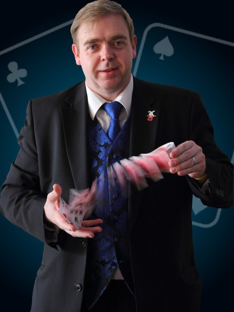 Wayne Trice, magic, comedy, Comedy at Work, workshops