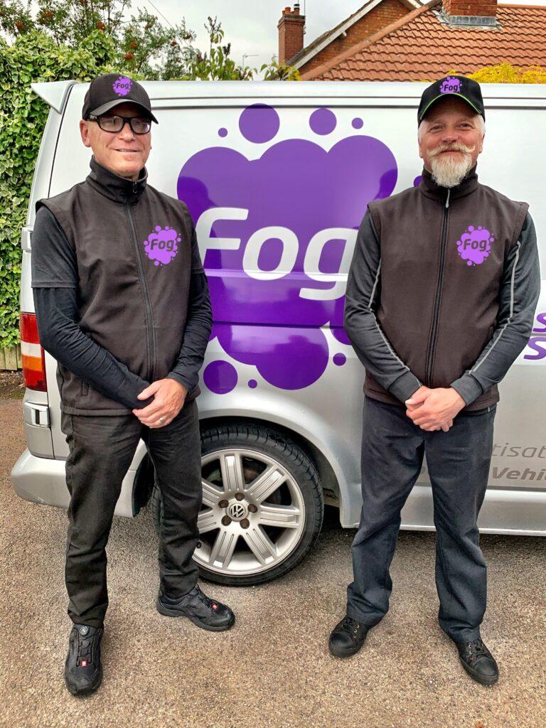 Fog, COVID-19, lockdown, Carl Barlow, Barry Sant, Rise&Shine