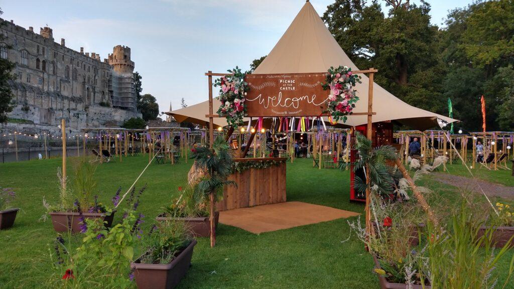Warwick Castle, Picnic In The Park, comedy, live music