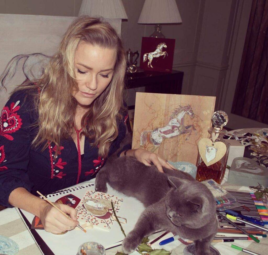 Georgea Blakey Art, Political Animal, portrait artist