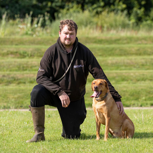 Dog trainer takes the lead to help Christmas toys campaign