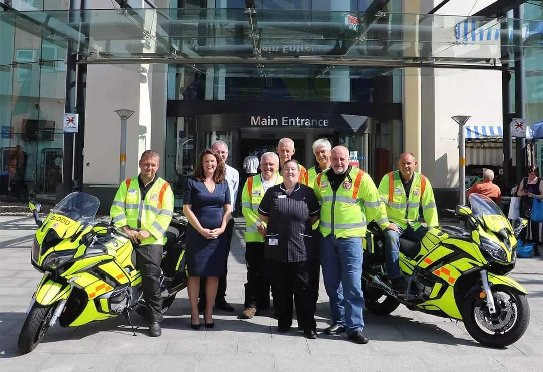 Warwickshire and Solihull Blood Bikes, toys appeal