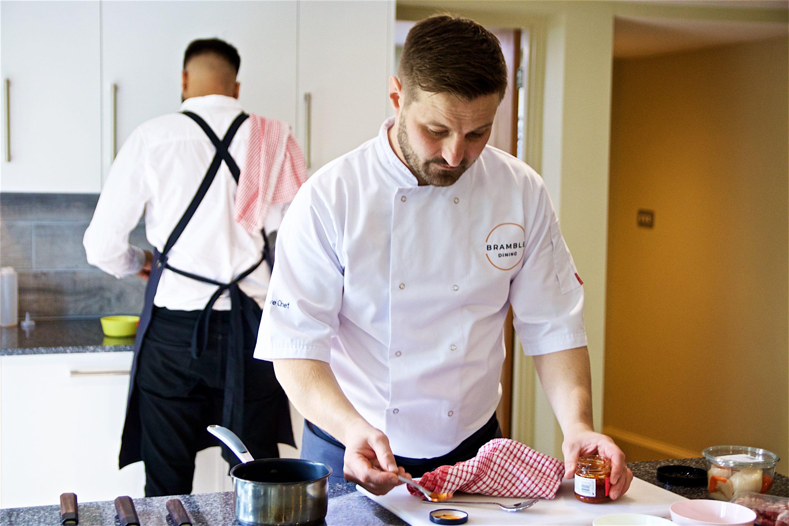Fine food, Bramble Dining, Richard Bramble