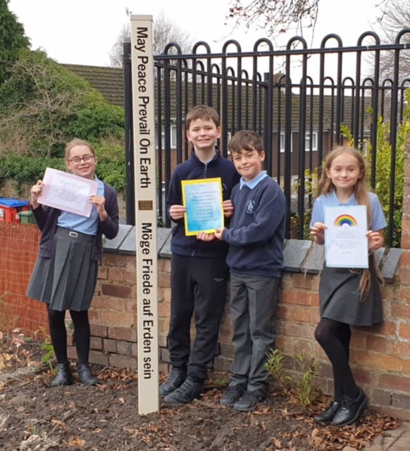 Rotary-led creative campaign promotes peace and mental wellbeing in schools