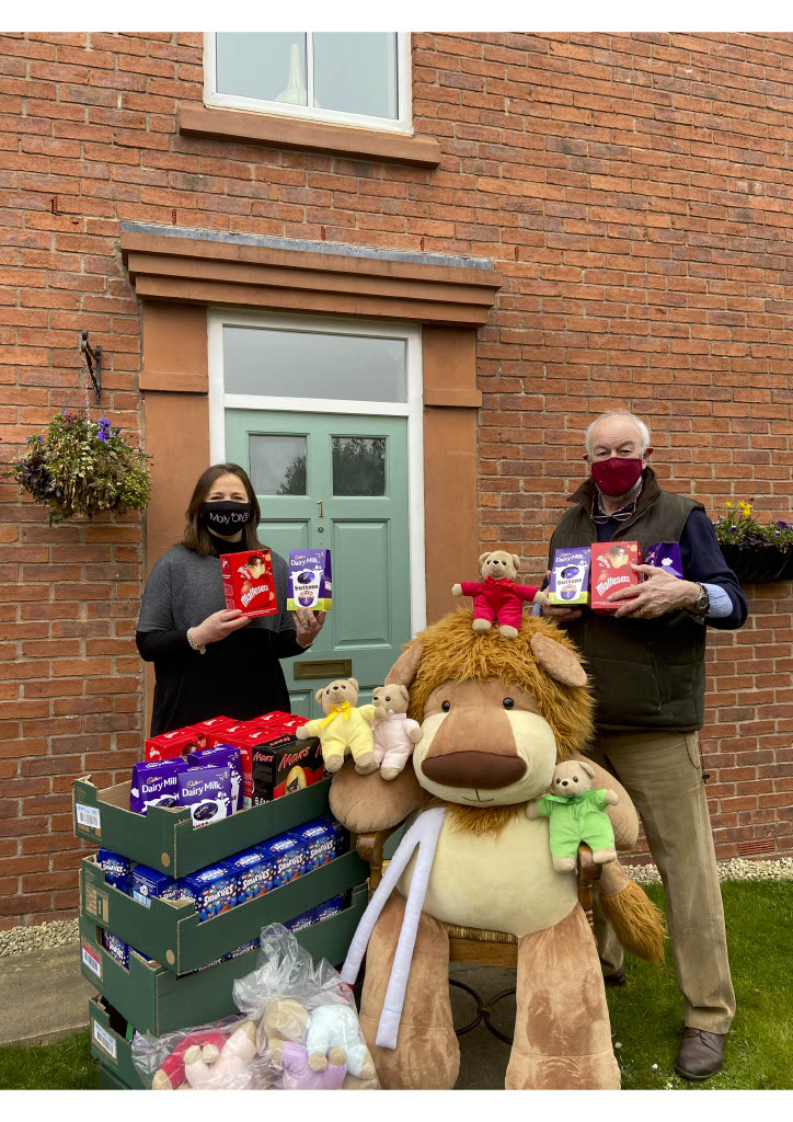 Molly Olly's Wishes, Rachel Ollerenshaw, Warwickshire Freemasons, Easter eggs
