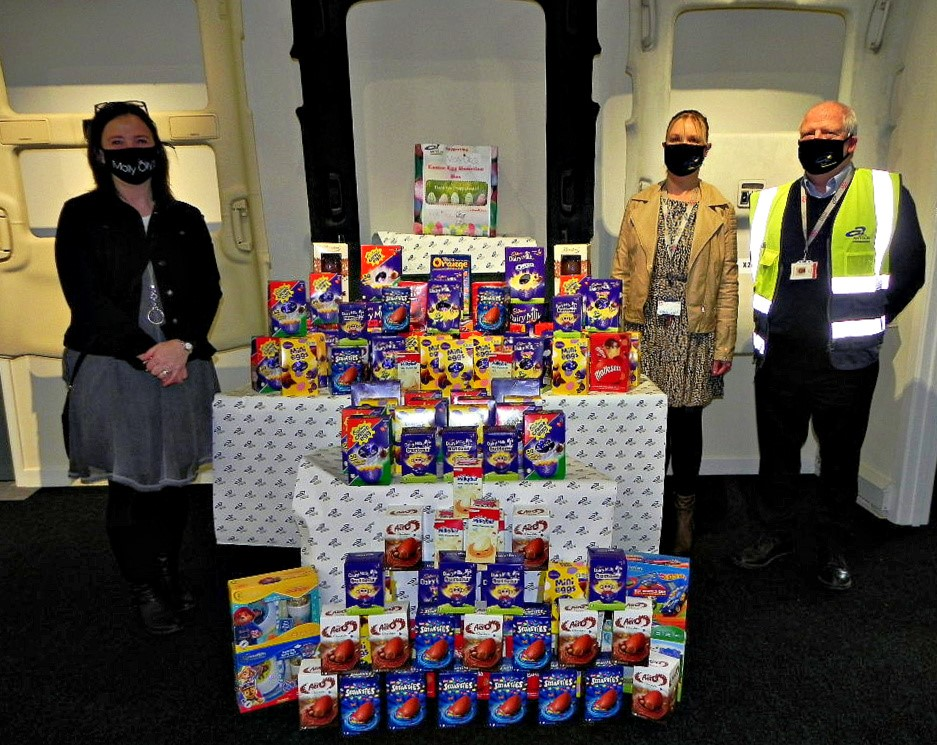 Egg-straordinary effort to spread cheer this Easter
