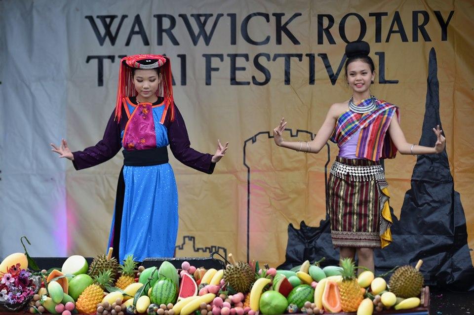 Thai Festival, Warwick Racecourse, Warwick Rotary