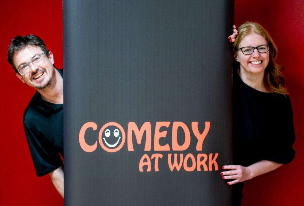 Raising laughs and loot through virtual comedy night
