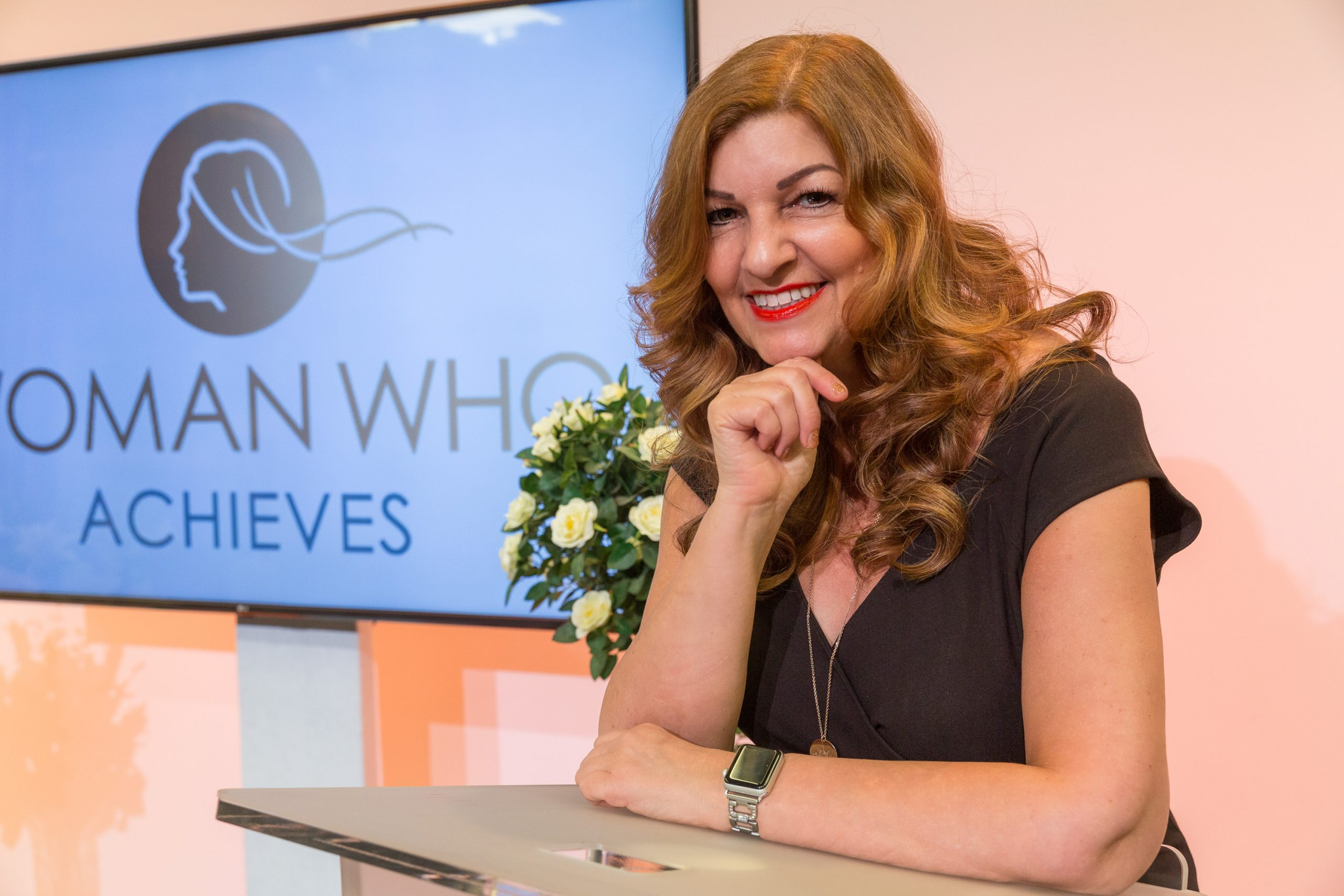 I Am A Woman Who, Sandra Garlick MBE, A Woman Who Achieves