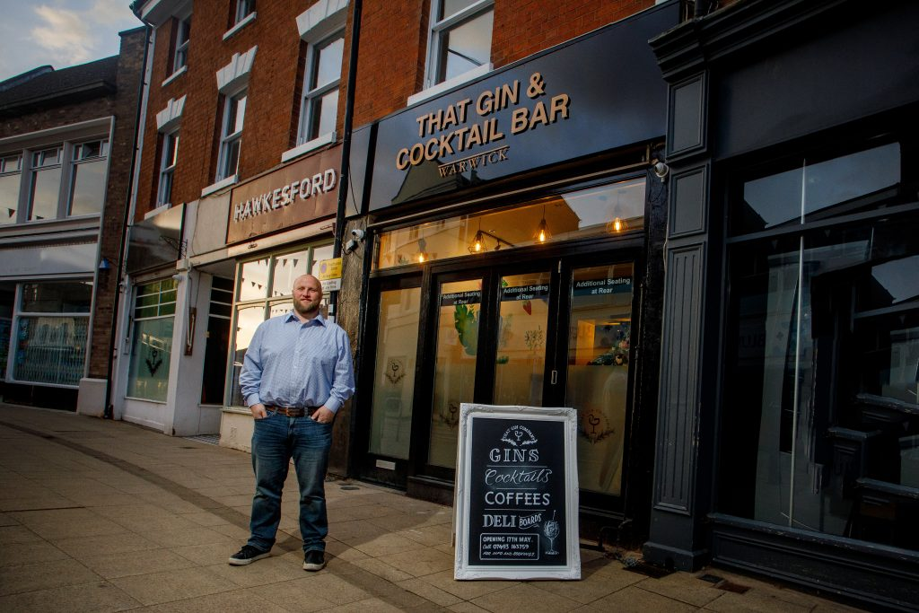 New concept gin bar set to open in Warwick