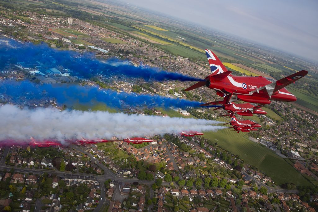 Midlands Air Festival to host RAF Red Arrows at Alcester