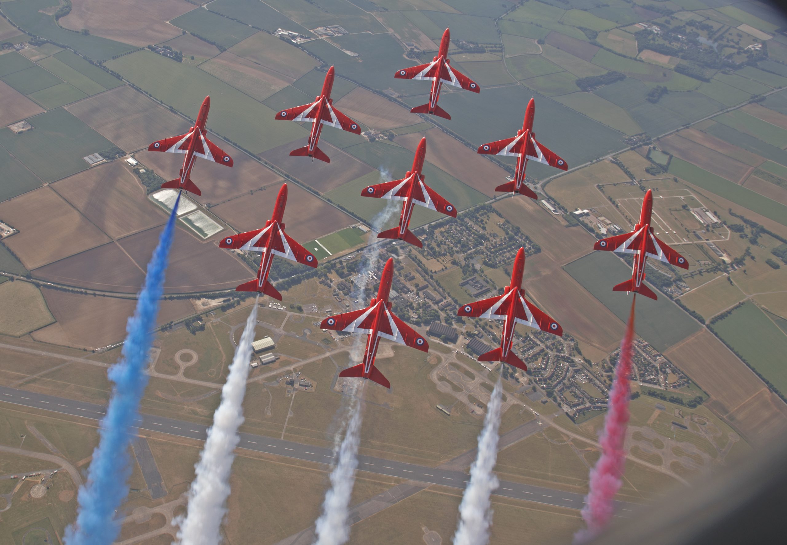 Midlands Air Festival, Red Arrows, Ragley Hall, Alcester