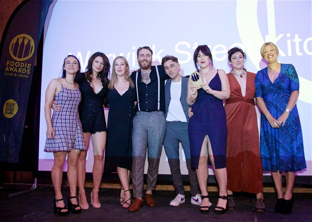 Businesses taste success at first Foodie Awards