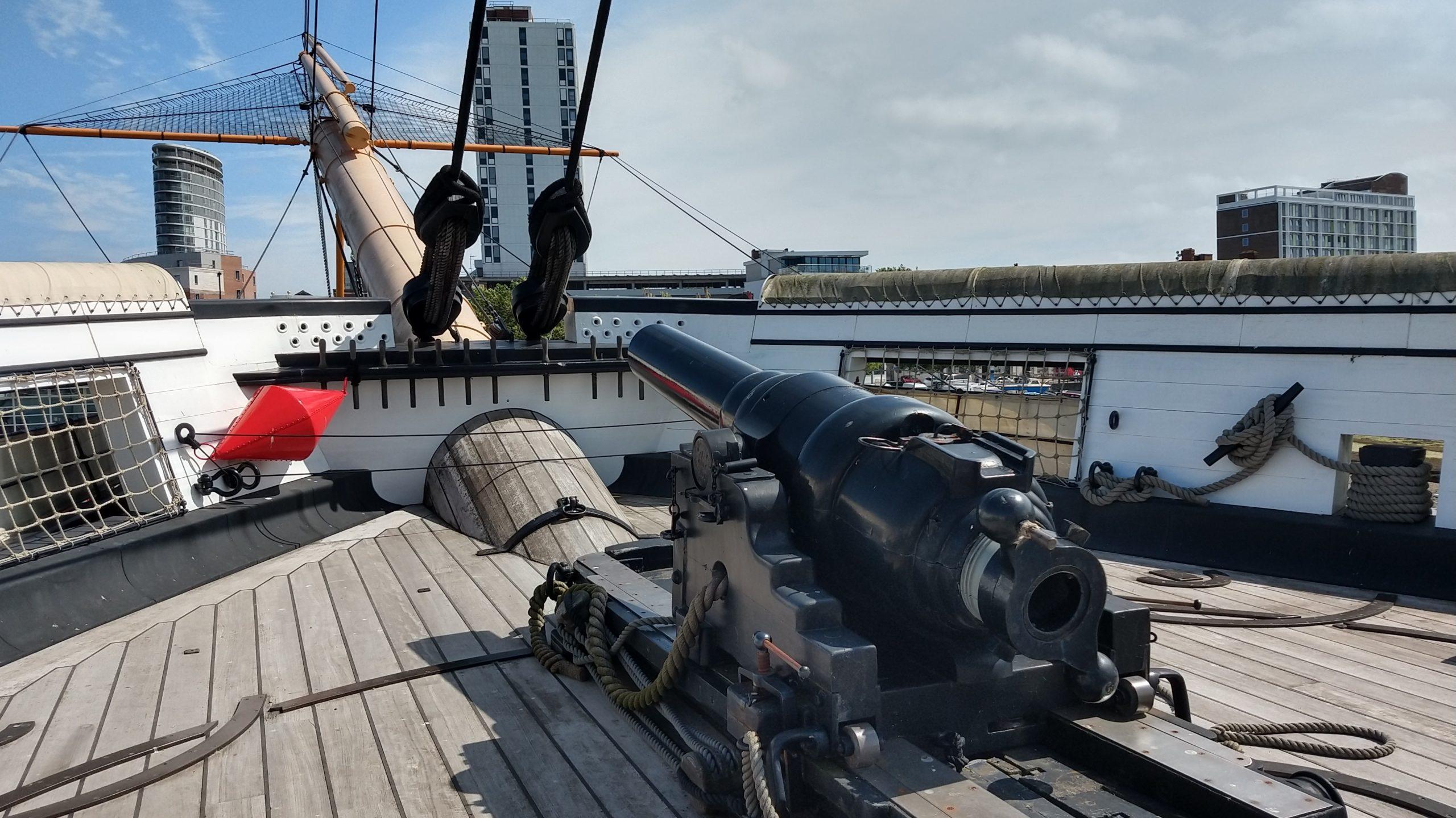 HMS Warrior, Portsmouth Historic Dockyard, museum