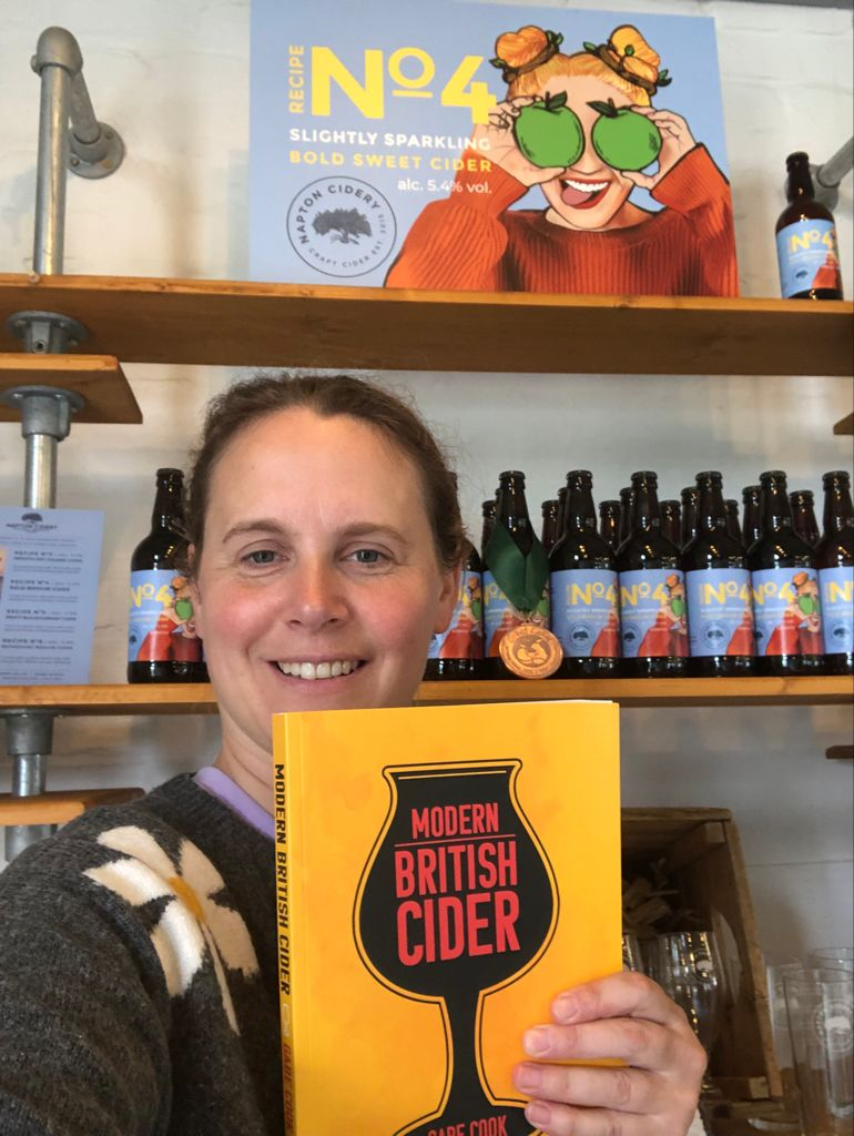 Napton Cidery, Charlotte and Jolyon Olivier, The Ciderologist, Gabe Cook, book