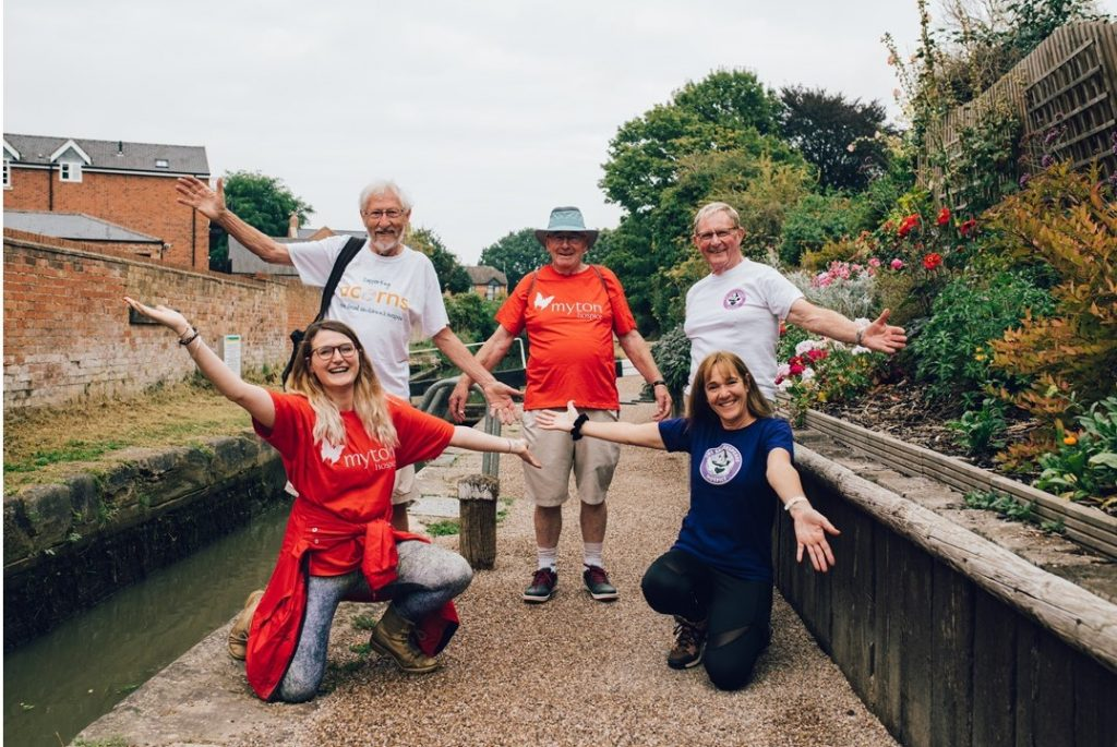Octogenarians put best feet forward for local hospices
