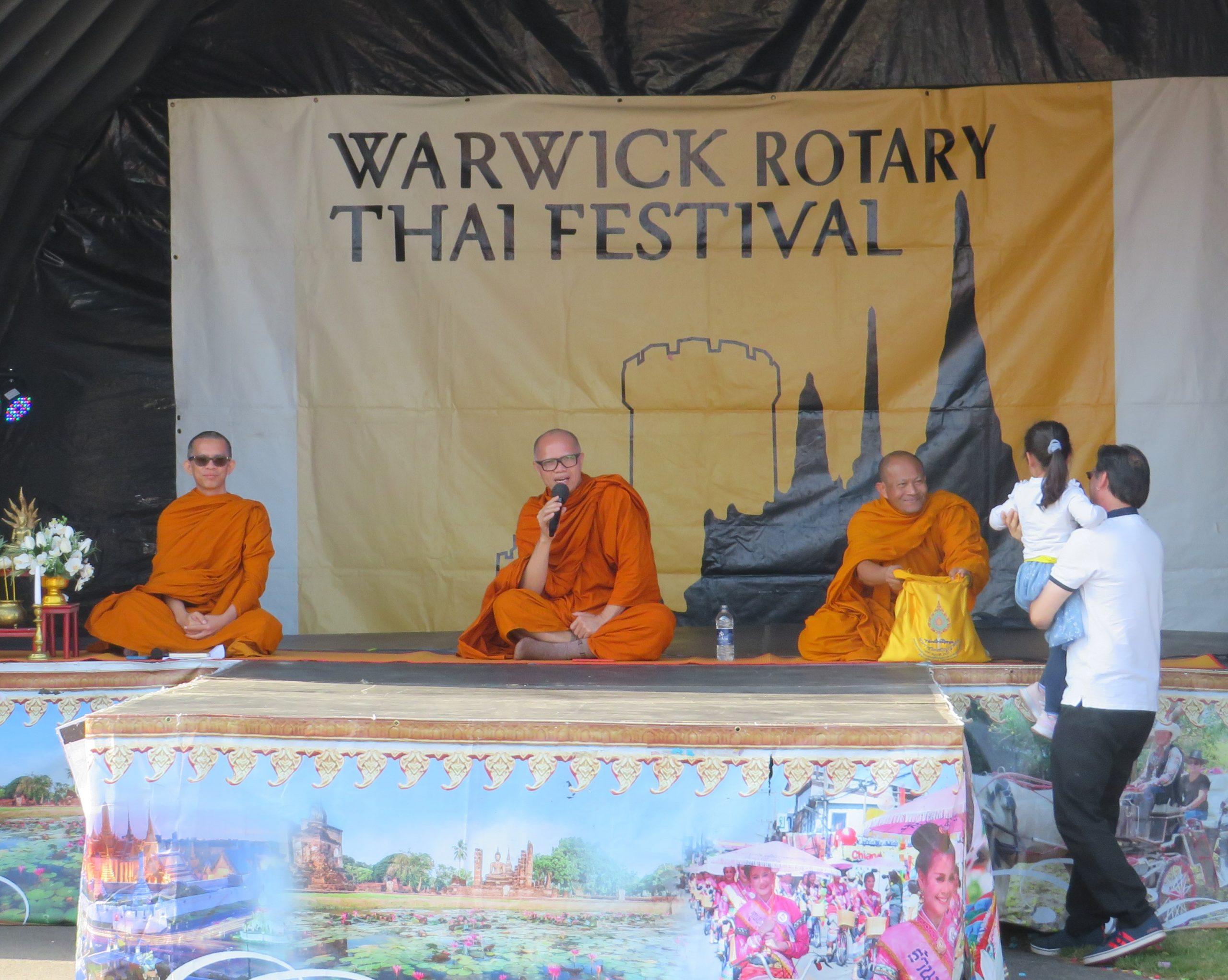 Warwick Thai Festival, Rotary Club
