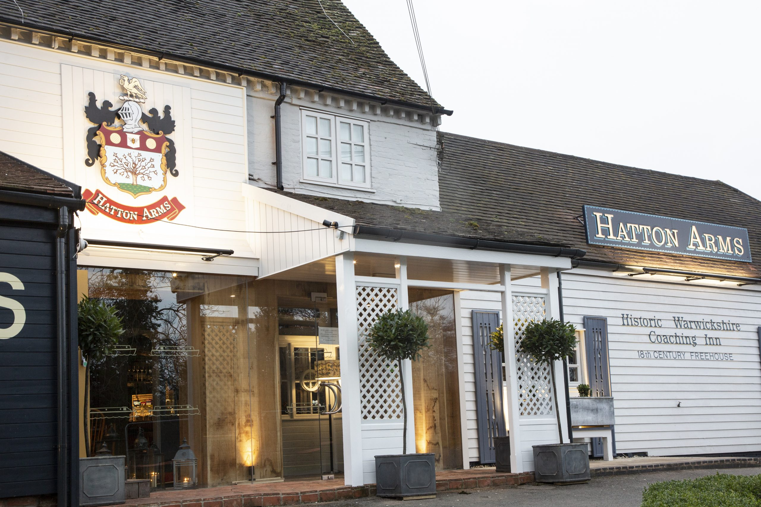 The Hatton Arms, Christmas Menu, Warwick
