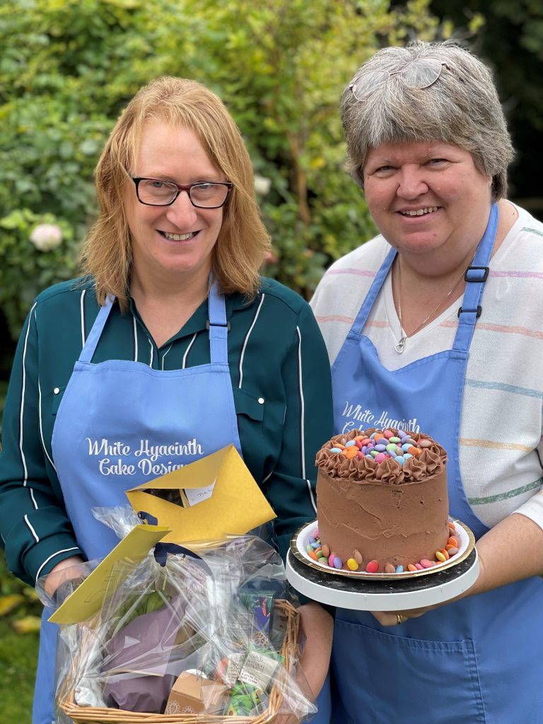 Fundraising is a piece of cake for professional baker!